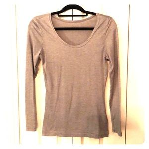 32 degrees HEAT, gray long sleeve, size S